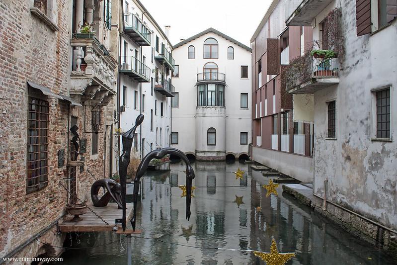 Ponte della Malvasia, Fiumi Treviso