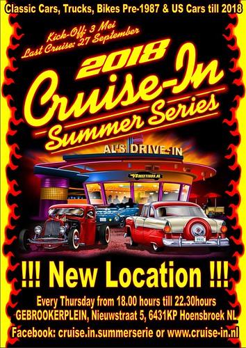 2018 Cruise-In Summer Series Hoensbroek   by v8meetings