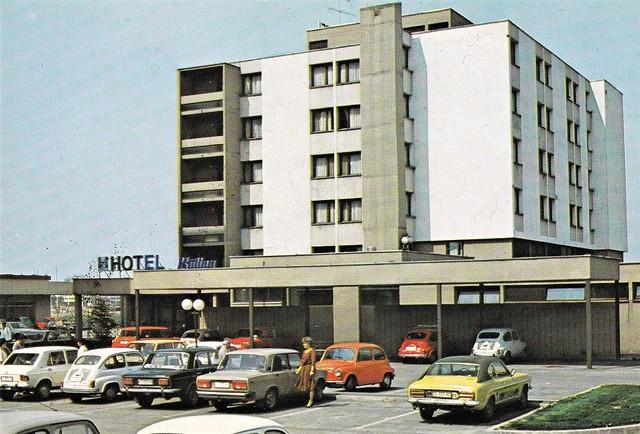 Postcard Croatie Kutina ''Hotel Kutina'' Turistkomerc Zagreb 1980