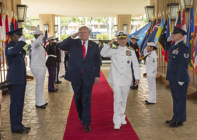 President Trump Visits USPACOM on First Leg of Indo-Asia-Pacific Journey