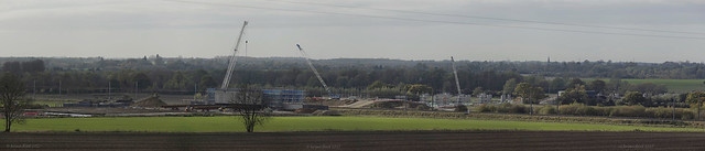 Contruction of new part of A14