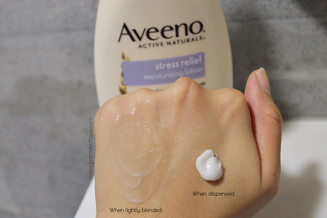AVEENO x iHerb Day Routine - Stress Relief Body Lotion 02