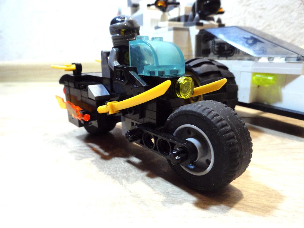 ninjago cole motocycle   Lego Ninjago style MOC. The motorcy…