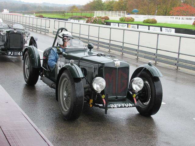 MG TC 1947, AC Owners Club MSA Sprint, Goodwood