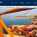 Greece, Macedonia, Aegean Sea, Thessaloniki Port, container terminal & management information system