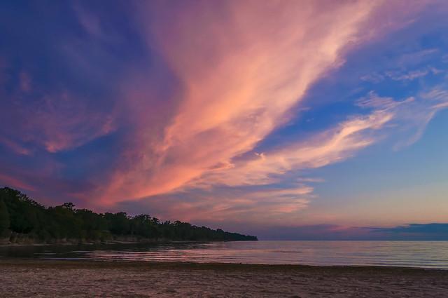 Sunset at Athol Bay - 0097