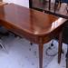 Mahogany display table lift up restored E895