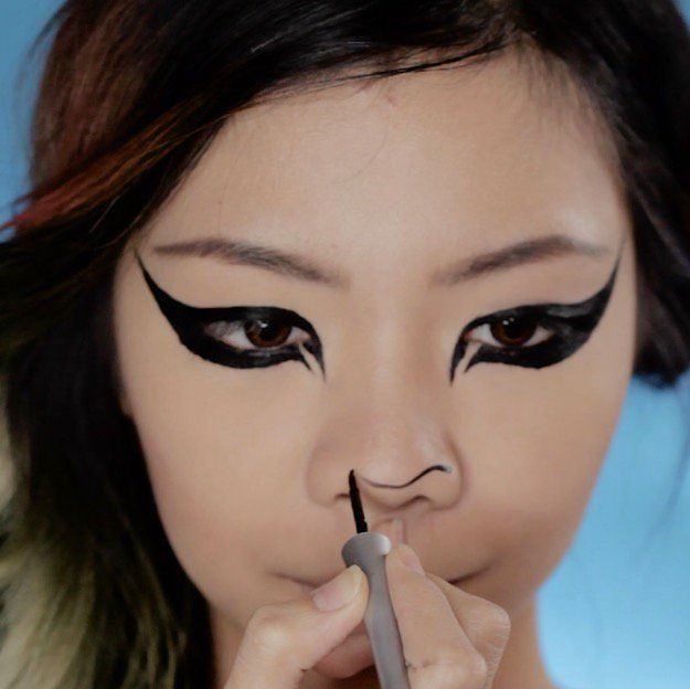 DIY Makeup Tutorials : Snapchat Lion Filter | Super Cute H ...