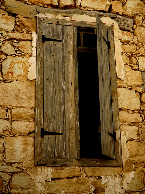 The Window from Dhrousha Village ...Papfos.....Cyprus