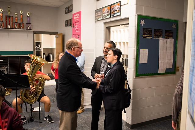 Jennifer Higdon at Prairie Star Middle School, 12.4.17