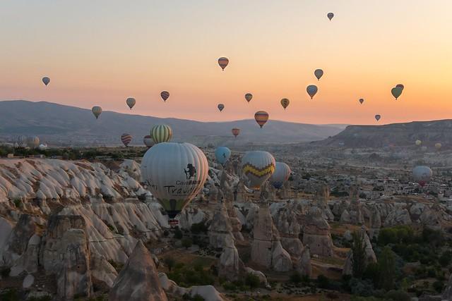 Balooning in Cappadocia