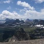 Logan Pass from Mt. Pollock