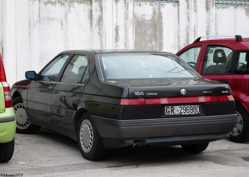 Alfa Romeo 164 >> 1992 Alfa Romeo 164 Twin Spark Alessio Flickr