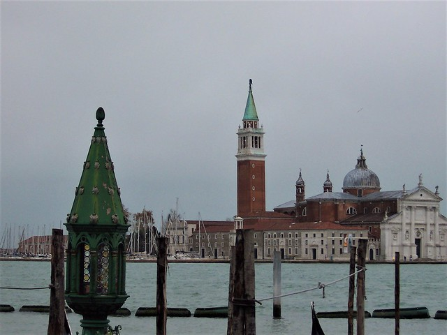 View across the lagoon to Giudecca, Venice
