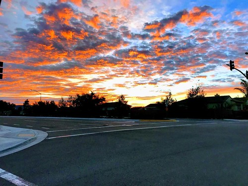 Another day dawns, viewed from the bike. Dawn Patrol. | by jsf.online