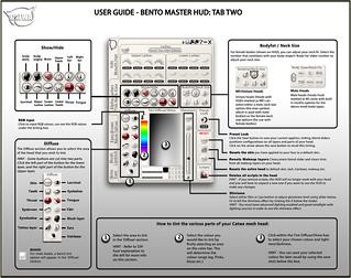 Bento Master HUD Manual - Tabs 2   User Guide   Catwa Clip   Flickr