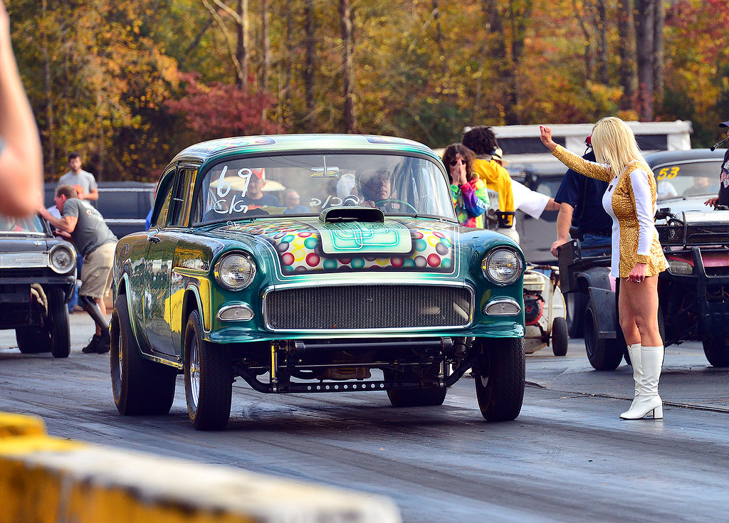 Colorful Chevy | At the 2017 Southeast Gassers Finals at Sha