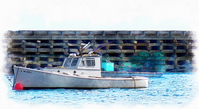 Maine Lobster Boat