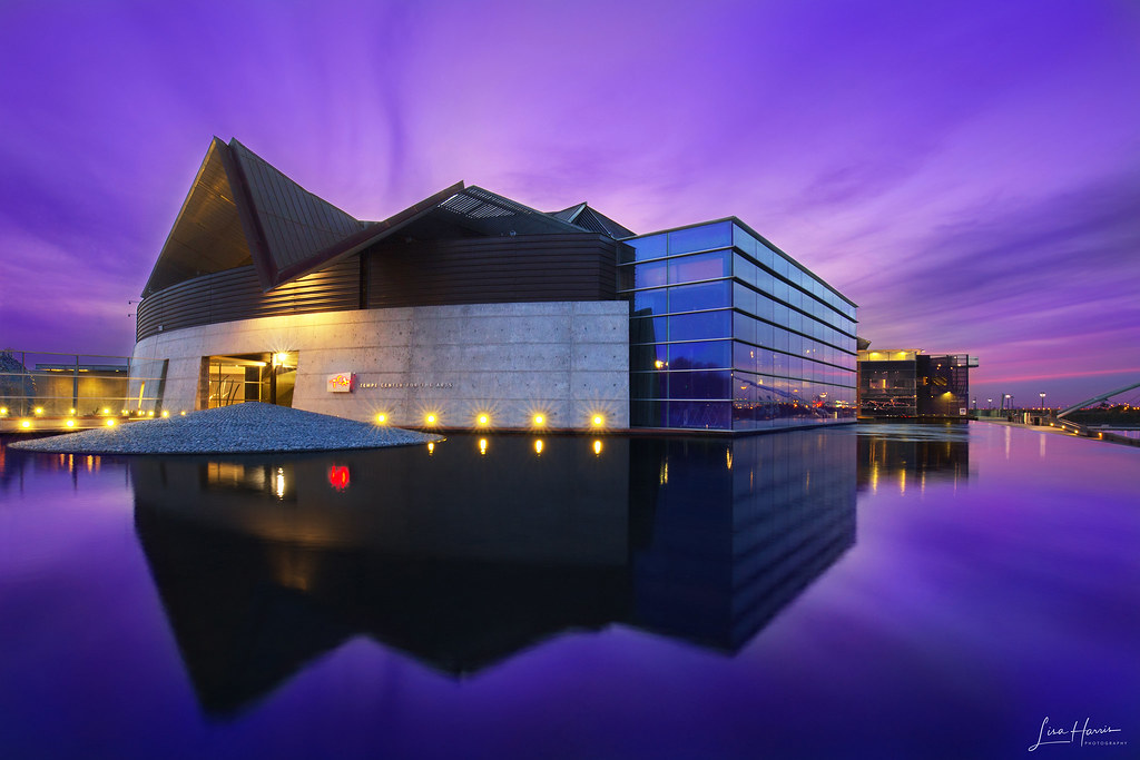 Tempe Center For The Arts Designed By Barton Myers Associa Flickr