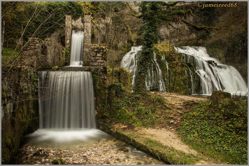 Cascade de la source du Lison - Jura