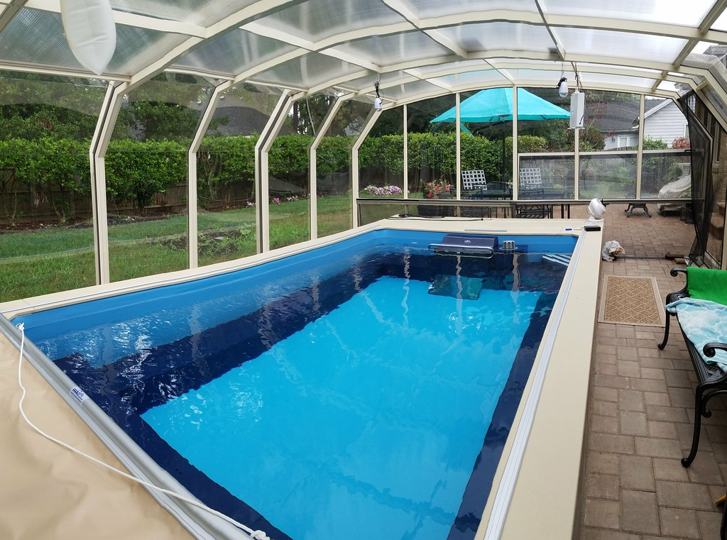 Enclosed Endless Pool® in Virginia Beach | This retractable ...