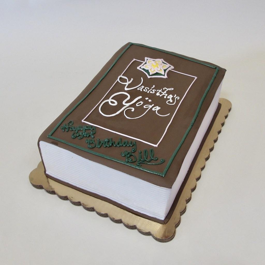 Miraculous Book Of Yoga 40Th Birthday 301152 Creative Cakes Tinley Park Personalised Birthday Cards Xaembasilily Jamesorg