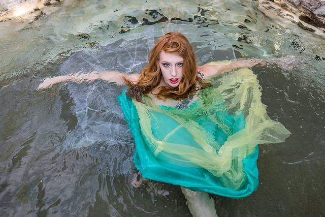 Tani at the Hot Springs