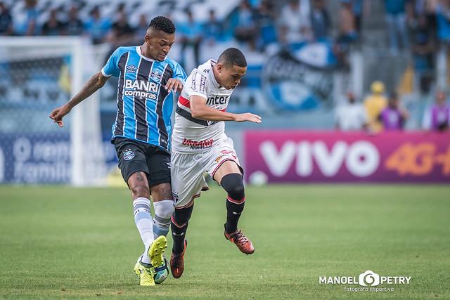 Grêmio 1x0 São Paulo (15/nov) - Brasileirão 2017