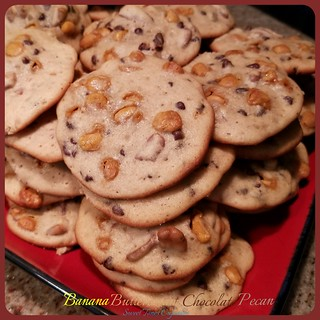 Loaded Banana Cookies-Sweettonescupcakes