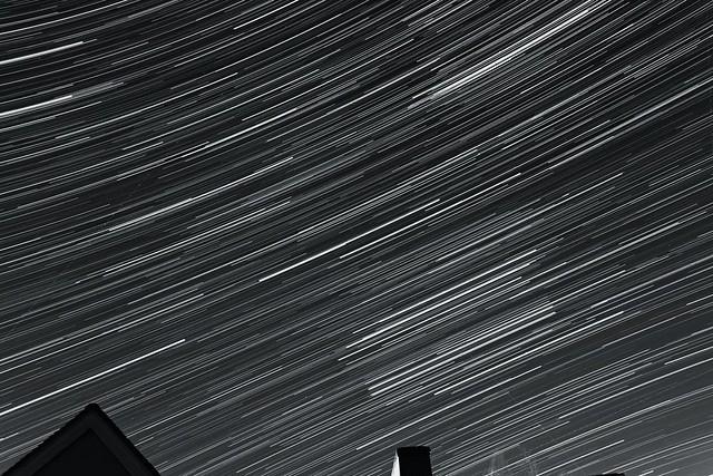 65 Minute Star Trails 11/12/17