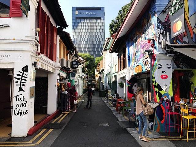 Haji Lane in Singapore