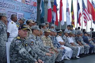 Royal Thai Navy Reception Onboard HTMS Angthong (LPD 791