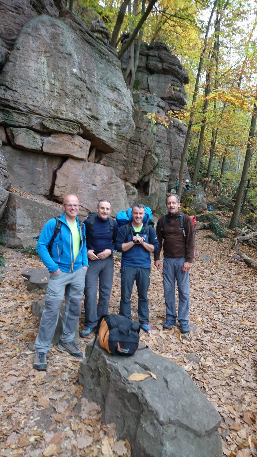 Klettern Gueberschwihr (F) 04.11.2017