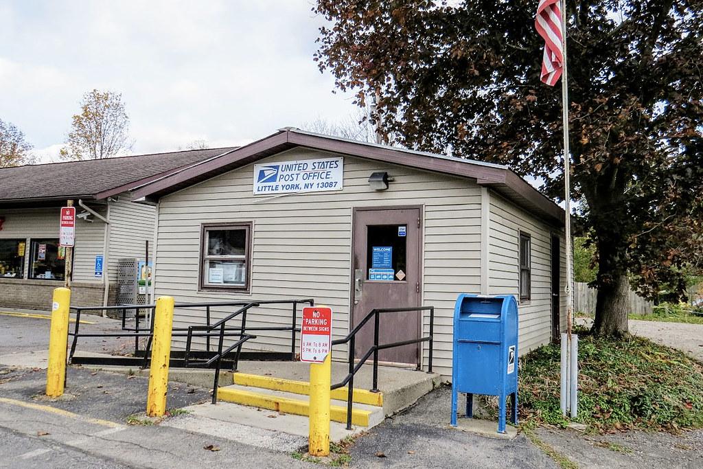 Little York, NY post office | Cortland County  Photo by E Ka
