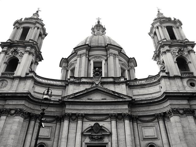 Chiesa di Santa Agnese in Agone - Piazza Navona Roma