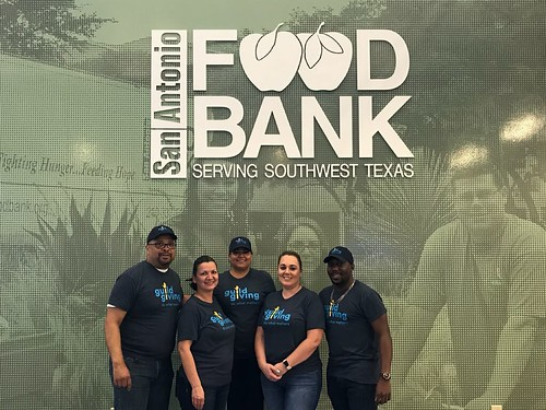 Our San Antonio, TX team volunteering at San Antonio Food Bank! | by guildmortgage