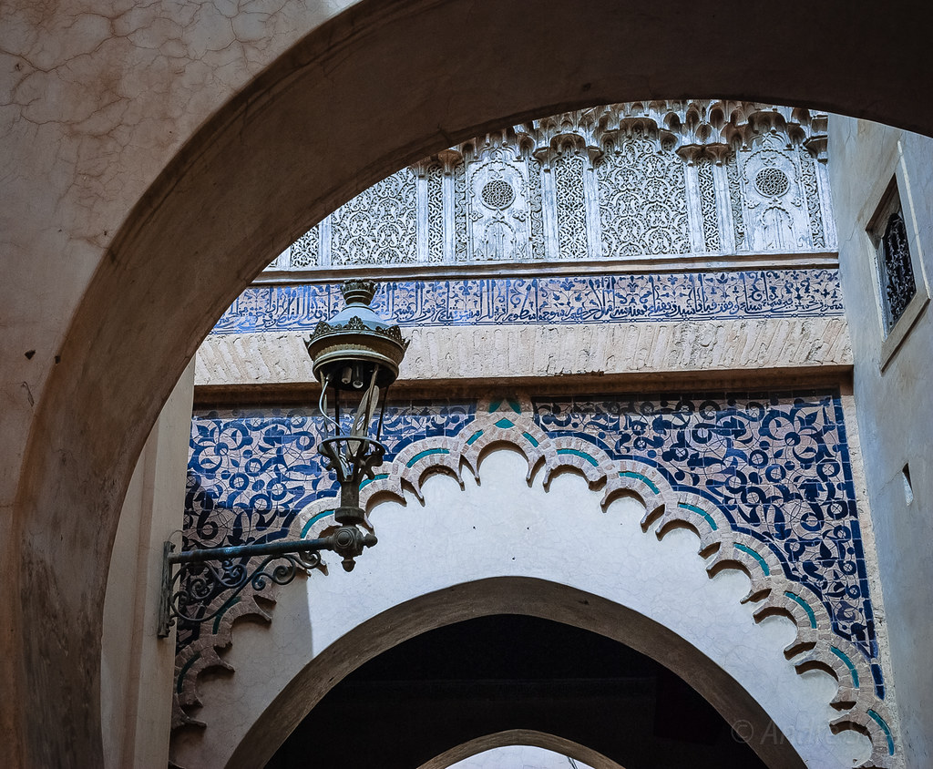 Марокко Марракеш Медресе Бен Юсуфа