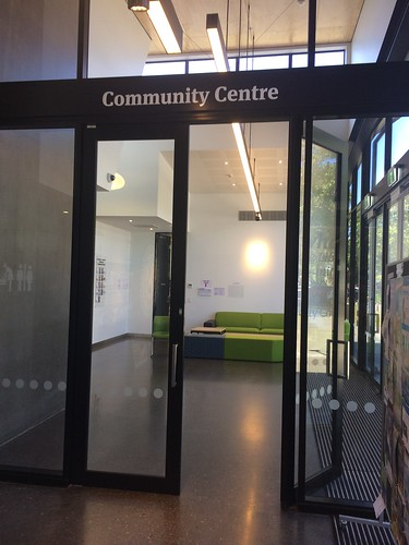 Community Centre foyer, Ōrauwhata: Bishopdale Library and Community Centre