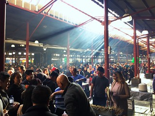 Smoky Satay for free- Victoria Market | by PsJeremy - Lots to catch up after travelling...