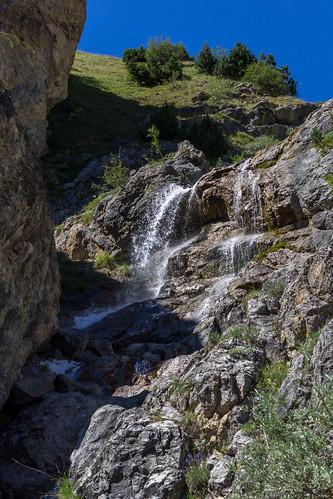 Cascade col de Larche   by Anthiel