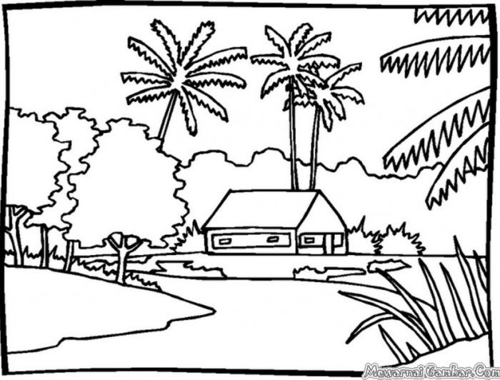660 Gambar Rumah Yang Bagus Dan Mudah Digambar Gratis Terbaik Gambar Rumah
