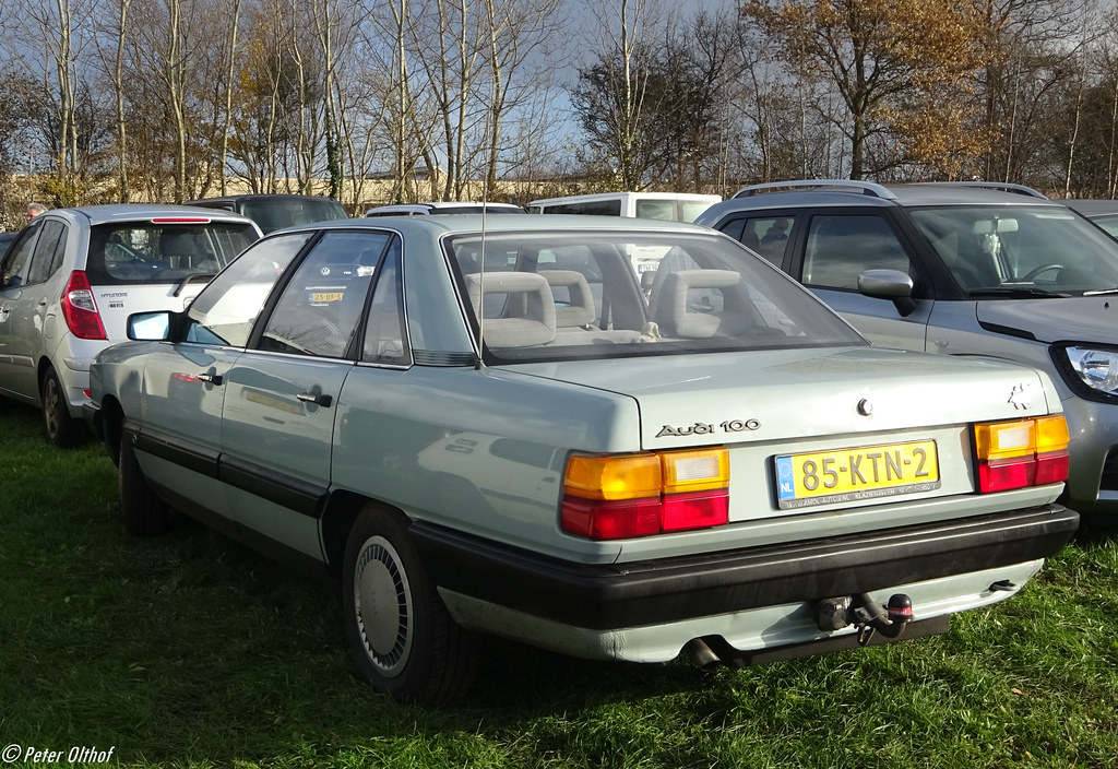 1985 Audi 100   Eelde   peterolthof   Flickr