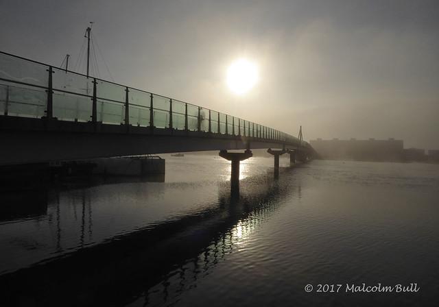 Fog by the Adur