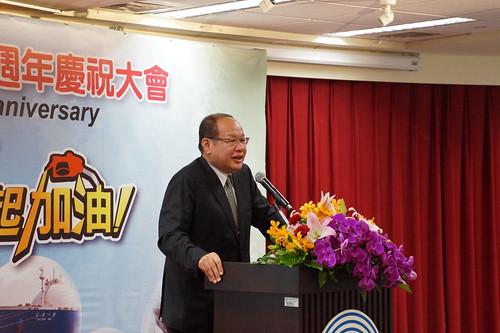 圖01莊理事長於中油71週年慶祝大會上致辭(1060601)