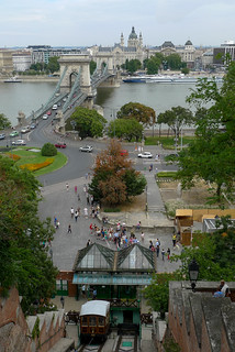 Budapest funicular castle