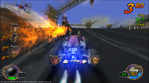 Jak X Combat Racing on PS4 | by PlayStation.Blog