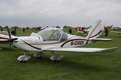 G-CGDI Evektor EV-97 [PFA 315A-14606] Sywell 030917