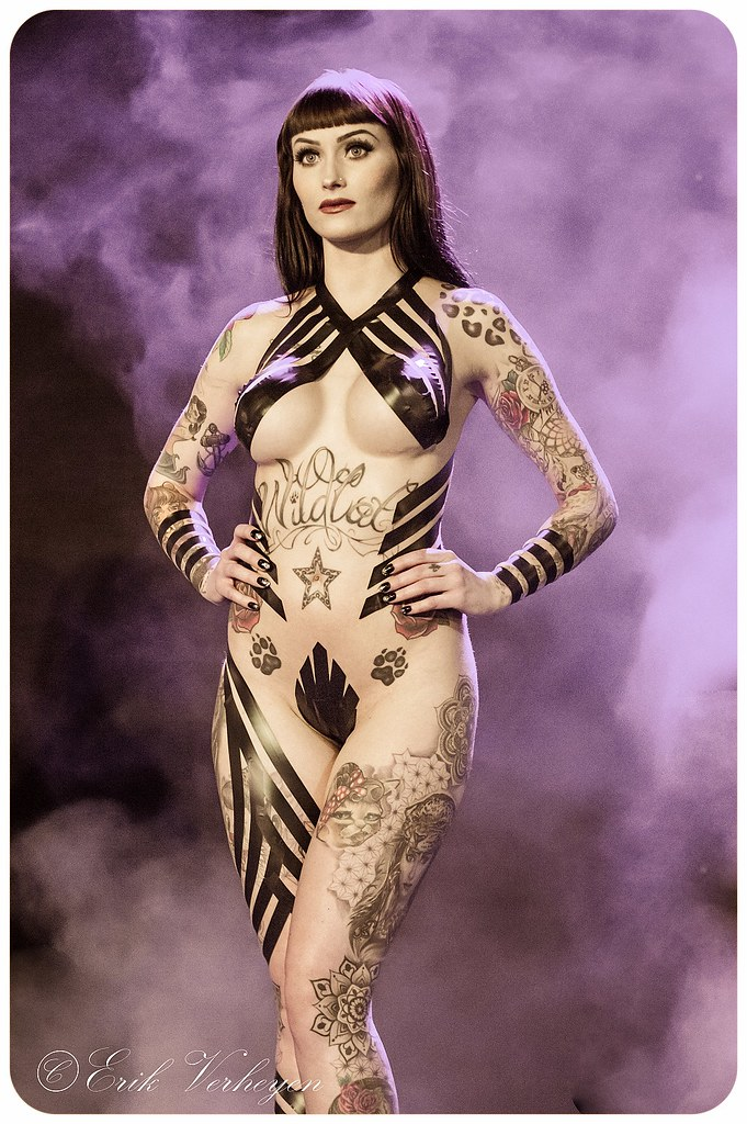 Brussels Tattoo Convention 2017 Wildcat ink Sarai   © Erik