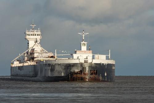 Duluth Trip - Tug Clyde S VanEnkevort/Barge Erie Trader - Nov 2017