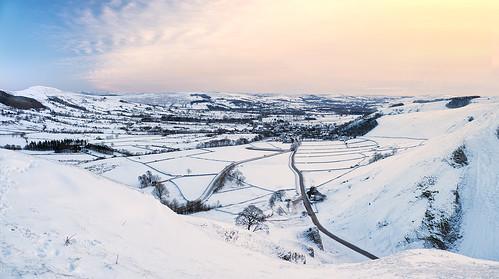 Winter morning on Winnats